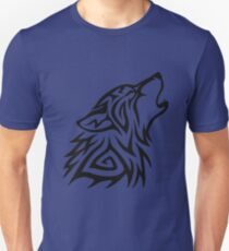 Tribal Wolf Howl T-Shirt