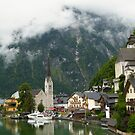 Village Hallstatt, Upper Austria by mike2048