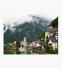 Village Hallstatt, Upper Austria Photographic Print