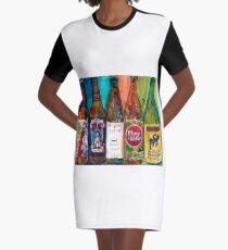 Zombie Dust, Dead Man Ale, Lunch, PlinytheEdler, Centillion Combo Fancy Beer Man Cave Graphic T-Shirt Dress