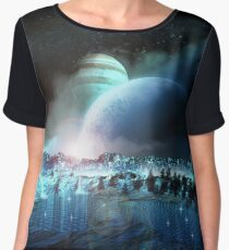 The earth began to cool Women's Chiffon Top