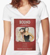 Bound - Wachowski brothers Camiseta entallada de cuello en V