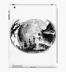 Think Deathly Hallows Moon iPad Case/Skin