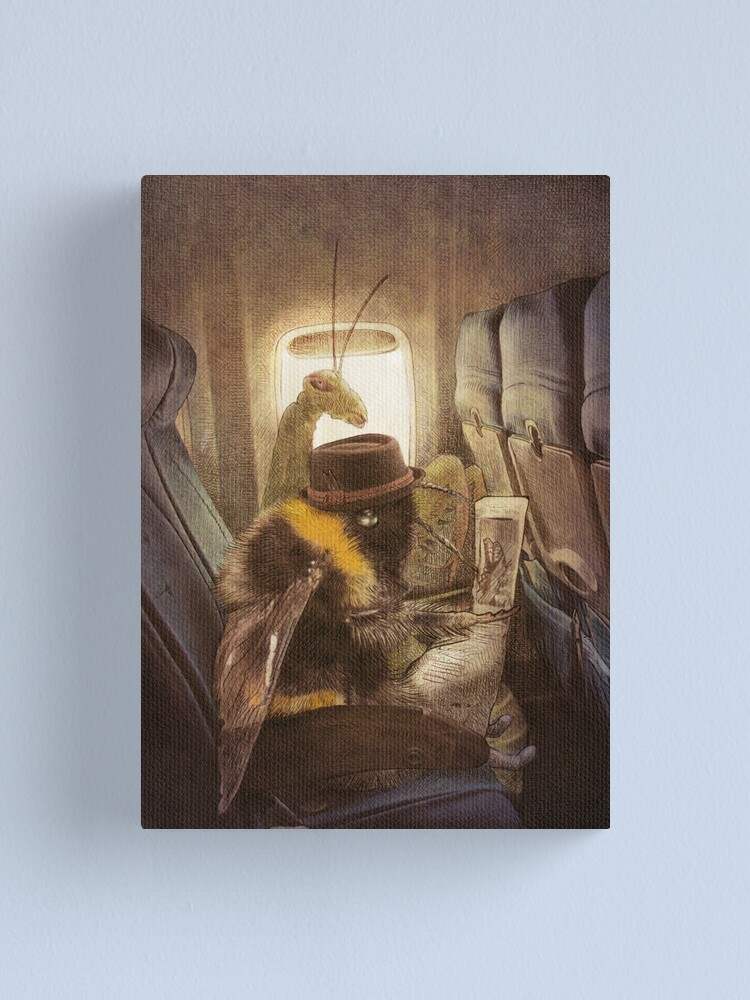 Alternate view of Flight of the Bumblebee  Canvas Print