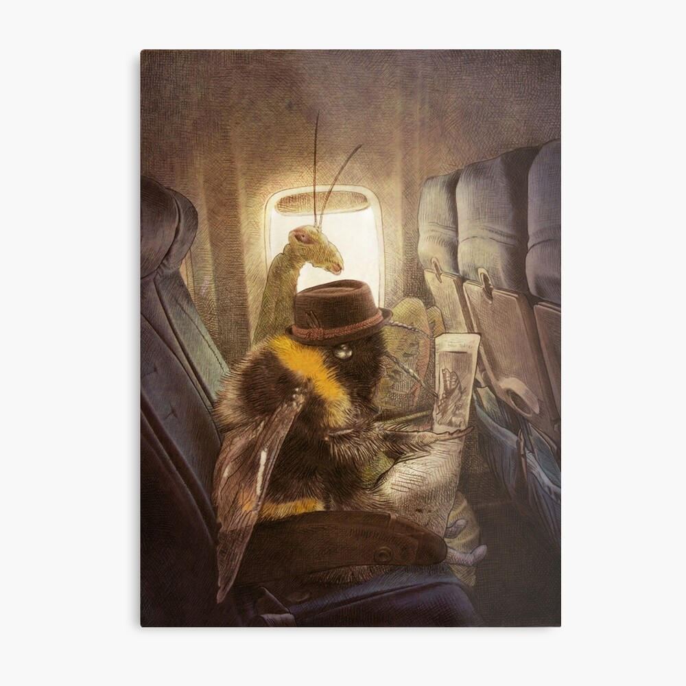 Flight of the Bumblebee  Metal Print