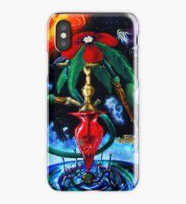 Cosmic hookah iPhone Case