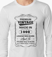 Premium Vintage 1999 Aged To Perfection T-Shirt