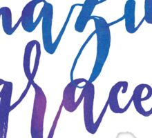 Amazing Grace - Inspirational Christian Message Sticker