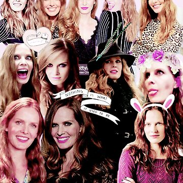 Rebecca Mader Collage by Kazzybookat