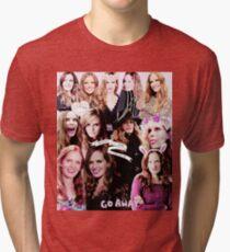 Rebecca Mader Collage Tri-blend T-Shirt