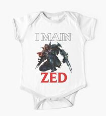 I main Zed - League of Legends One Piece - Short Sleeve