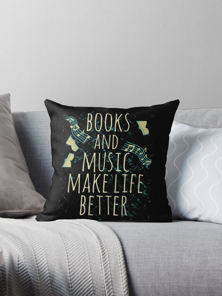 books and music make life better #1 by FandomizedRose