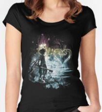 a path to the heart Women's Fitted Scoop T-Shirt