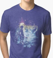 a path to the heart Tri-blend T-Shirt