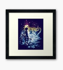a path to the heart Framed Print