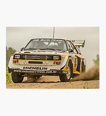 Audi Quattro S1 E2 Replica - Lightforce Rally SA 2016 Photographic Print