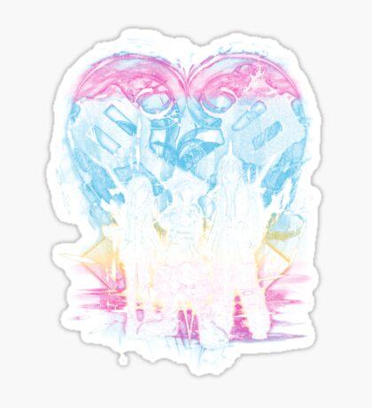 kingdom trio Sticker