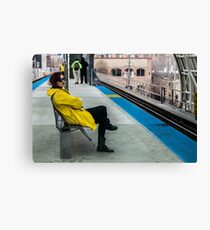 Waiting for the CTA Canvas Print