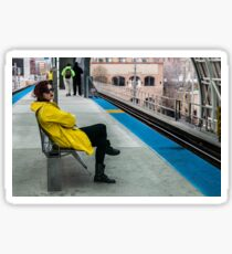 Waiting for the CTA Sticker