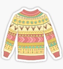 Cute cozy sweater Sticker