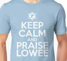 Praise White Unisex T-Shirt