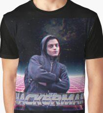 Hacker man Graphic T-Shirt