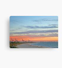 Port Beach Fremantle Western Australia  Canvas Print