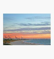 Port Beach Fremantle Western Australia  Photographic Print