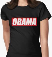 OBAMA Women's Fitted T-Shirt