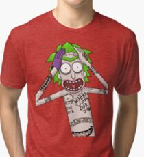 I'm just going to wubba lubba dub dub you real bad Tri-blend T-Shirt