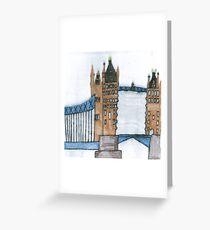 Stephen Tower Bridge Greeting Card