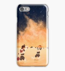 Orange Sea - Klance iPhone Case/Skin