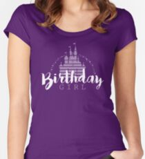 Birthday Girl Dreams Women's Fitted Scoop T-Shirt