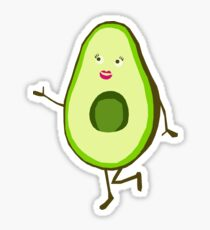 Mrs Avocado  Sticker