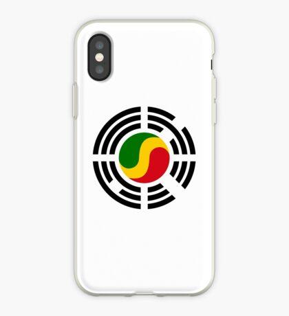 Korean Congolese Multinational Patriot Flag Series iPhone Case