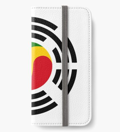 Korean Congolese Multinational Patriot Flag Series iPhone Wallet