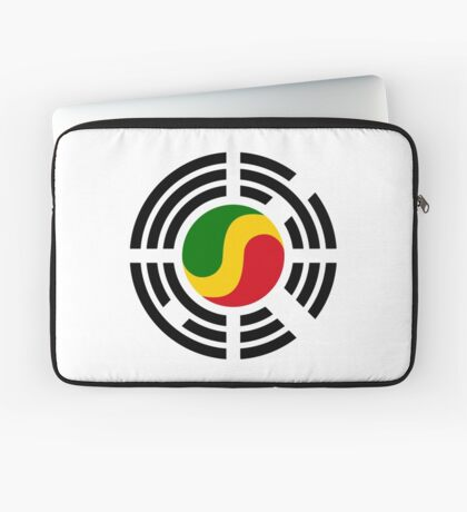 Korean Congolese Multinational Patriot Flag Series Laptop Sleeve