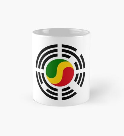 Korean Congolese Multinational Patriot Flag Series Mug