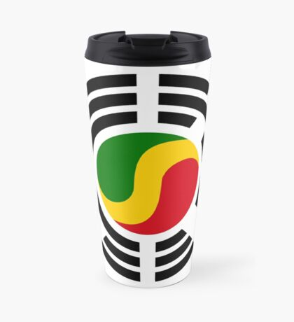 Korean Congolese Multinational Patriot Flag Series Travel Mug