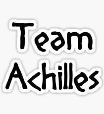 Team Achilles (Black) Sticker