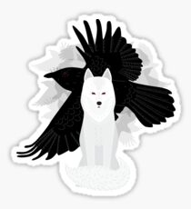 Ghost the Crow Sticker