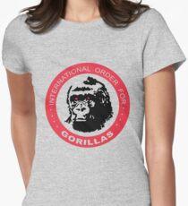 International Order For Gorillas Women's Fitted T-Shirt
