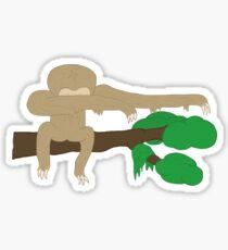 Dabbing Sloth Sticker