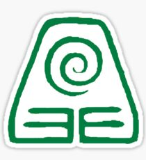 Earth Kingdom Symbol Sticker