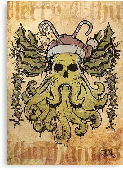 Merry Cthulhumas! by Captain RibMan