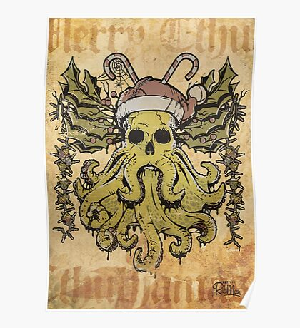 Merry Cthulhumas! Poster