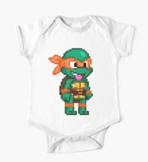 Michelangelo is a Party Dude One Piece - Short Sleeve