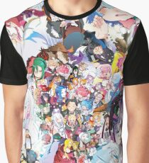 Re:Zero all characters Graphic T-Shirt