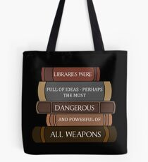 Libraries were full of ideas... Tote Bag