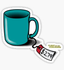 Flight of the Conchords: Cup! Sticker